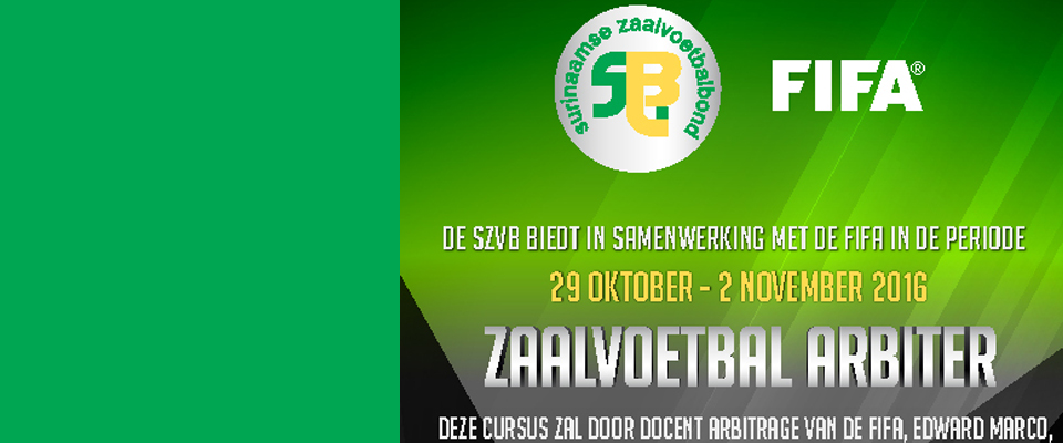 Referee course SVB/SZVB