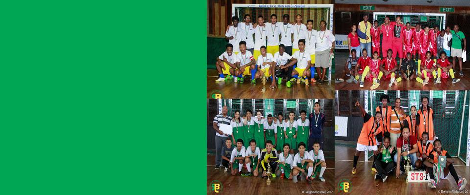 Kampioenen Telesur Scholen Futsal competitie 2017