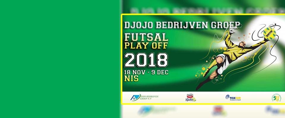Djojo Bedrijven Groep Futsal Playoff 2018